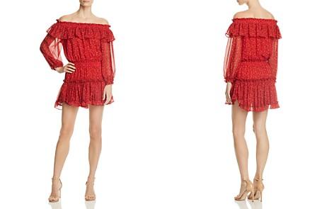MISA Los Angeles Alima Off-the-Shoulder Dress - Bloomingdale's_2