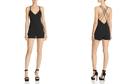 Sunset + Spring Crisscross Strappy Romper - 100% Exclusive - Bloomingdale's_2