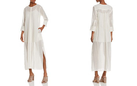 Theory Weekend Shirt Dress - Bloomingdale's_2
