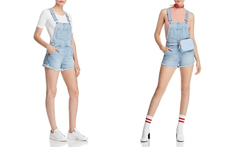 Joe's Jeans Denim Shortalls in Kellsie - Bloomingdale's_2