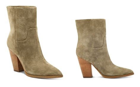 Marc Fisher LTD. Women's Devin Pointed Toe Suede High-Heel Western Booties - Bloomingdale's_2