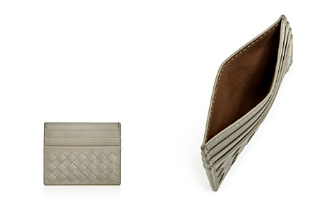 Bottega Veneta Woven Leather Card Case - Bloomingdale's_2