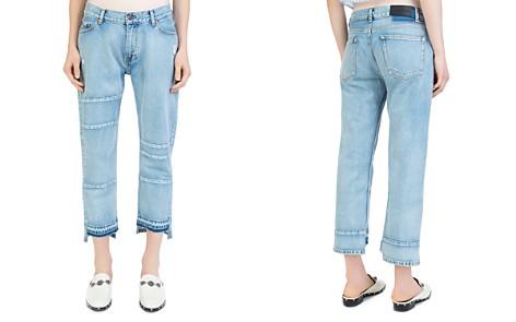 The Kooples Nory Step-Hem Jeans in Light Blue - Bloomingdale's_2