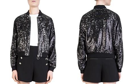 The Kooples Sequined Bomber jacket - Bloomingdale's_2