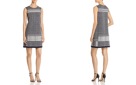 NIC+ZOE Forefront Printed Shift Dress - Bloomingdale's_2