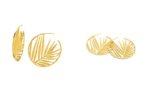 Gorjana Palm Profile Hoop Earrings - Bloomingdale's_2
