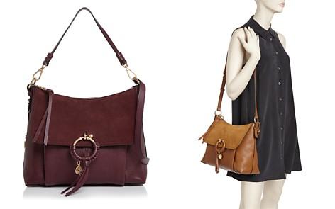 See by Chloé Joan Suede & Leather Shoulder Bag - Bloomingdale's_2