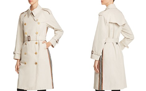 Burberry Trecastle Stripe Trench Coat - Bloomingdale's_2