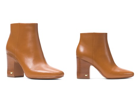 MICHAEL Michael Kors Women's Elaine Leather Booties - Bloomingdale's_2