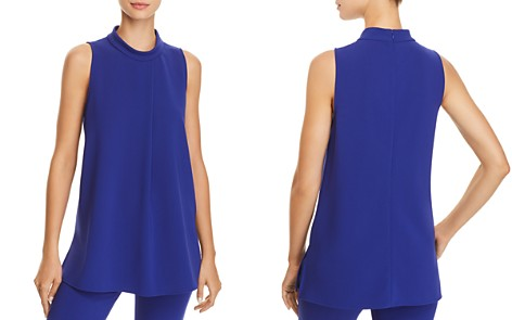Theory Talniza Crepe Top - 100% Exclusive - Bloomingdale's_2