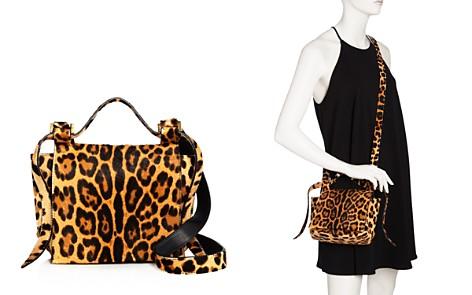 ELENA GHISELLINI Small Leopard Print Calf Hair Crossbody - Bloomingdale's_2