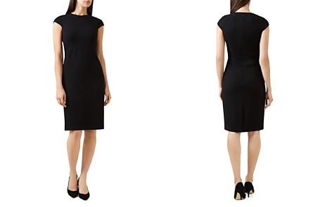 HOBBS LONDON Kirsty Piqué Sheath Dress - Bloomingdale's_2