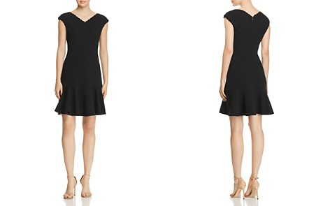 Rebecca Taylor Anna Scallop-Trimmed Dress - 100% Exclusive - Bloomingdale's_2