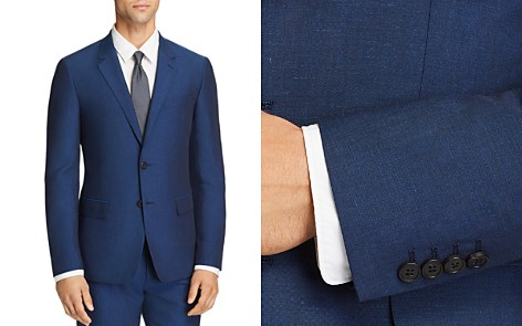 Theory Tailored Linen Blend Slim Fit Suit Jacket - Bloomingdale's_2