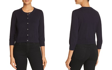 kate spade new york Rhinestone-Button Cotton Cardigan - Bloomingdale's_2