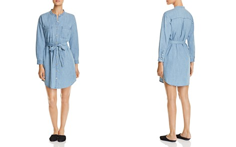 Eileen Fisher Chambray Belted Shirt Dress - Bloomingdale's_2