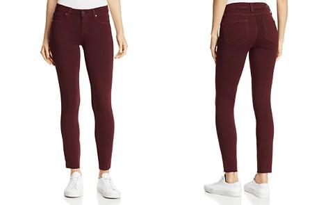 PAIGE Verdugo Ankle Skinny Jeans in Vintage Dark Currant - Bloomingdale's_2