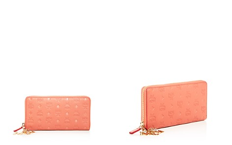 MCM Klara Monogram-Embossed Leather Continental Wallet - Bloomingdale's_2