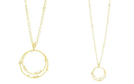 "Freida Rothman Radiance Double-Loop Pendant Necklace, 27"" - Bloomingdale's_2"