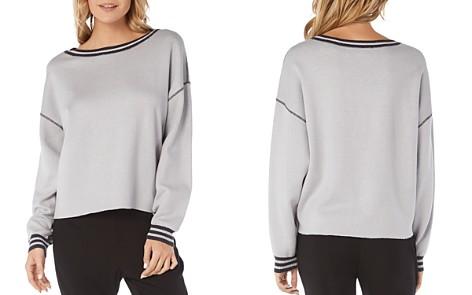 Michael Stars Stripe-Trim Reversible Sweatshirt - Bloomingdale's_2