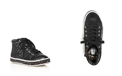 STEVE MADDEN Girls' Glitter-Sole High Top Sneakers - Little Kid, Big Kid - Bloomingdale's_2