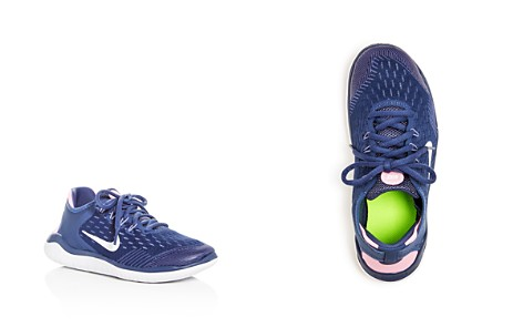 Nike Girls' Free RN 2018 Lace Up Sneakers - Big Kid - Bloomingdale's_2