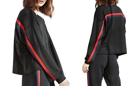 Velvet by Graham & Spencer Danica Striped Sweatshirt - Bloomingdale's_2