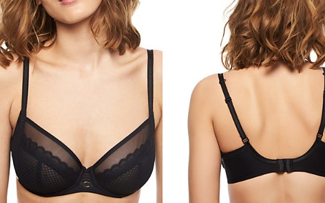 Chantelle Parisian Allure Unlined Convertible Plunge Underwire Bra - Bloomingdale's_2