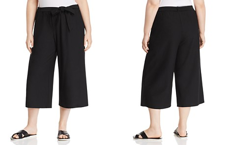Eileen Fisher Plus Belted Culottes - Bloomingdale's_2