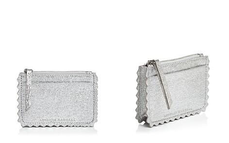 Loeffler Randall Nina Metallic Leather Card Case - Bloomingdale's_2