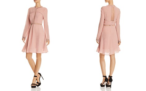 Bardot Cherie Long-Sleeve Embroidered Dress - Bloomingdale's_2