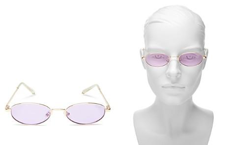 Quay Women's Showdown Slim Oval Sunglasses, 56.5mm - Bloomingdale's_2
