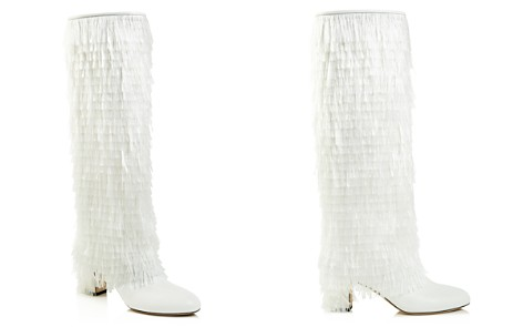 Jimmy Choo Women's Magalie 65 Fringed Leather High Block-Heel Boots - Bloomingdale's_2