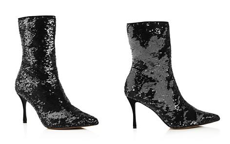 Tabitha Simmons Women's Wendie Pointed Toe Sequin Booties - Bloomingdale's_2