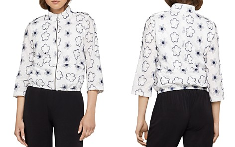 BCBGeneration Embroidered Utility Jacket - Bloomingdale's_2