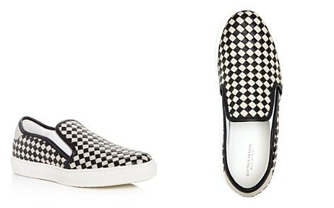 Bottega Veneta Men's Woven Leather Slip-On Sneakers - Bloomingdale's_2