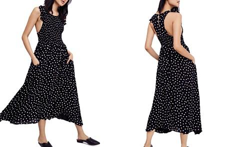 Free People Smocked Polka-Dot Dress - Bloomingdale's_2