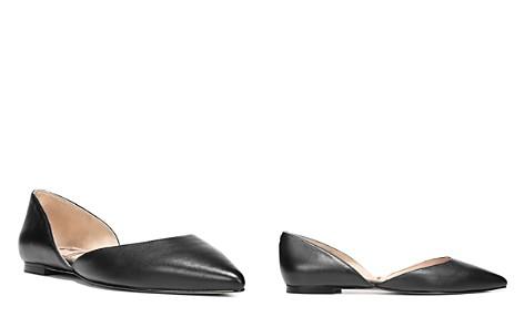 Sam Edelman Women's Rodney Leather d'Orsay Flats - Bloomingdale's_2