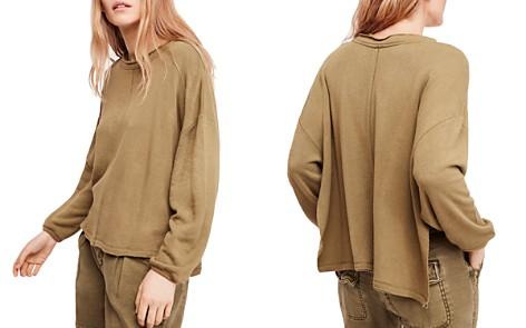 Free People Be Good Distressed Sweatshirt - Bloomingdale's_2