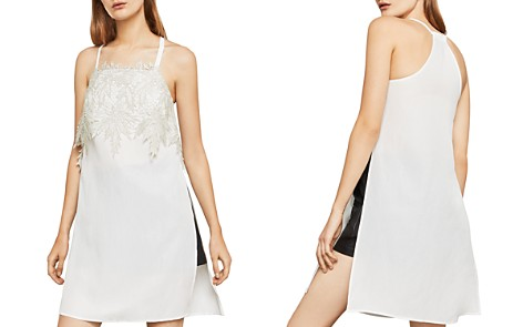 BCBGMAXAZRIA Sleeveless Appliquéd Tunic - Bloomingdale's_2