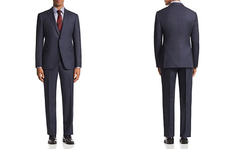 Emporio Armani M-Line Micro-Stitch Classic Fit Suit - Bloomingdale's_2