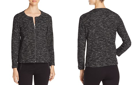 Eileen Fisher Lightweight Mélange Knit Jacket - 100% Exclusive - Bloomingdale's_2