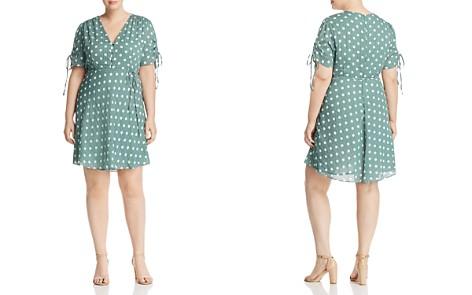 GLAMOROUS CURVY V-Neck Polka-Dot Dress - Bloomingdale's_2
