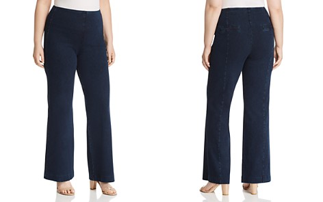 Lyssé Plus Pull-On Denim Trouser - Bloomingdale's_2