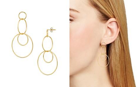 Argento Vivo Linked Circle Drop Earrings - Bloomingdale's_2
