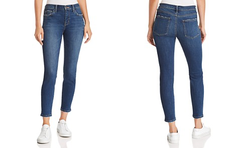 Current/Elliott The Stiletto Cropped Skinny Jeans in 1 Year Worn Stretch Indigo - Bloomingdale's_2