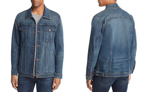 7 For All Mankind Vintage Denim Trucker Jacket - Bloomingdale's_2