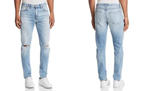 AGOLDE Blade Skinny Fit Jeans in Cash Blue - Bloomingdale's_2