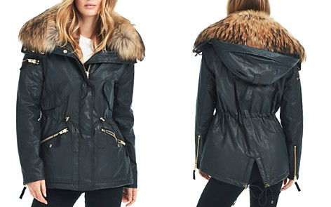 SAM. Devon Fur Trim Short Parka - Bloomingdale's_2