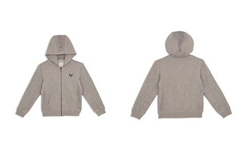 True Religion Boys' French Terry Hoodie with Mesh Details - Little Kid, Big Kid - Bloomingdale's_2